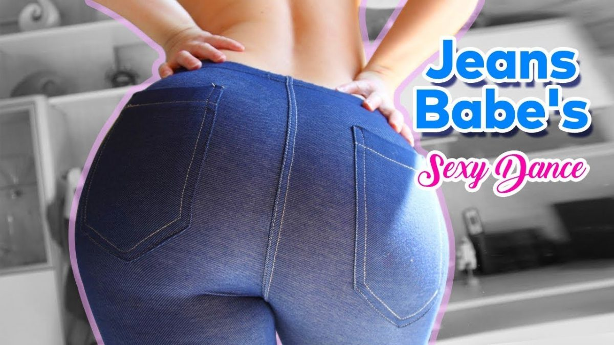Jeans Babe's Sexy Dance!